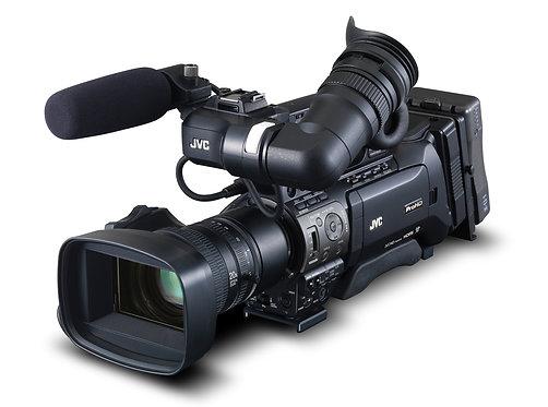 Camera video JVC GY-HM850E Full HD shoulder-mount ENG/studio camcorder
