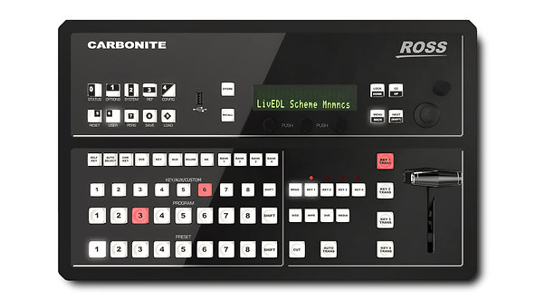Mixer video Ross Carbonite Black SOLO 1 M/E Live Production Switcher