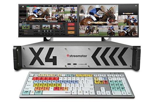 Sistem productie video streaming Streamstar X4, 4 channel
