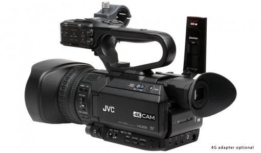 Cameră video JVC GY-HM200ESB 4KCAM streaming camcorder