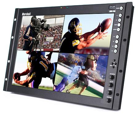 "Monitor video Marshall QVW-1708-3G/HDI 6RU 17"" Full Resolution Rack-mountable"