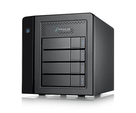 Server stocare HDD RAID Promise Pegasus3 R4 Thunderbolt