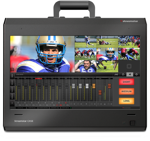 Sistem productie video streaming Streamstar Case 800, 8-channel