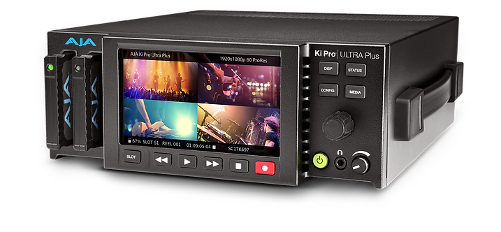 Recorder video AJA Ki Pro Ultra Plus Multi-Channel HD Recorder 4K/UltraHD/2K/HD