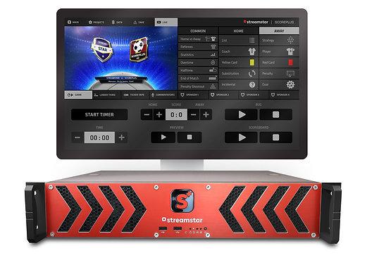 Sistem grafica sport Streamstar SCOREPLUS Server - Professional Live Sports