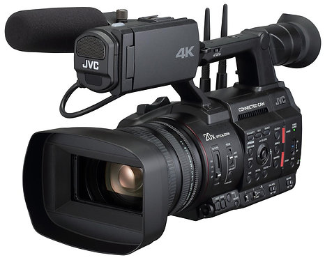 Camera video JVC GY-HC550E 4K ENG Hand-Held camcorder