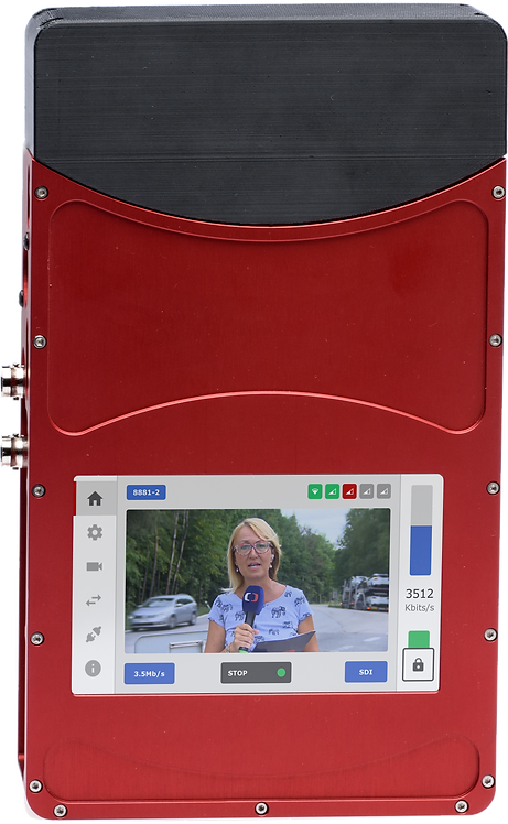 Encoder video Mobile Viewpoint Agile Airlink The thinnest H.265 encoder