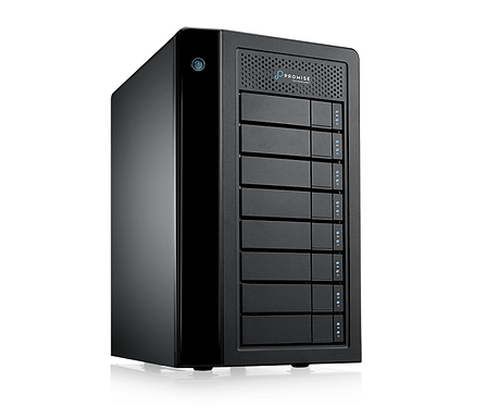 Server stocare HDD RAID Promise Pegasus3 R8 PC Edition Thunderbolt