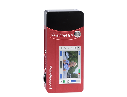 Encoder video Mobile Viewpoint QuaddroLink The ruggedized all-in-one