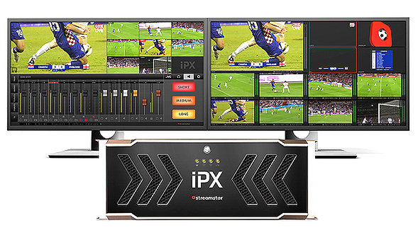 Sistem productie video live streaming Streamstar IPX, 8 channel