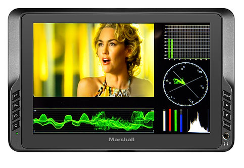 "Monitor video Marshall V-LCD70W-SH 7"" Full HD+ 1920 x 1200 Lightweight"