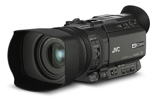 Cameră video JVC GY-HM170E compact 4KCAM handheld camcorder