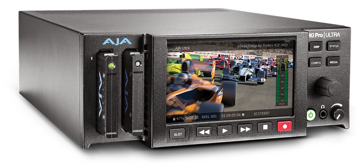 Recorder video AJA Ki Pro Ultra 4K/UltraHD and 2K/HD Recorder/Player