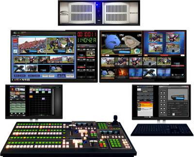 Mixer video Broadcast Pix BPswitch Integrated Production Switcher