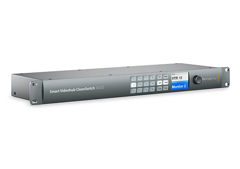 Matrice video Blackmagic Smart Videohub CleanSwitch 12x12 Video Router