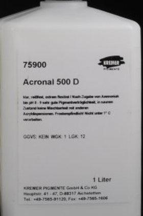Acronal 500 D - Чиста акрилна дисперсия