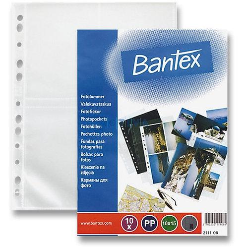 Прозрачни джобове за снимки Bantex