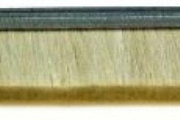 Тясна четка от естествен косъм