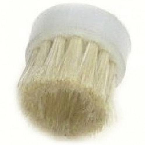 Кръгла четка от бяла конска грива