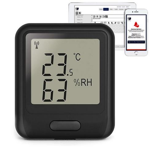 Безжичен термо-хигрометър с регистратор на данни EL-WiFi-TH
