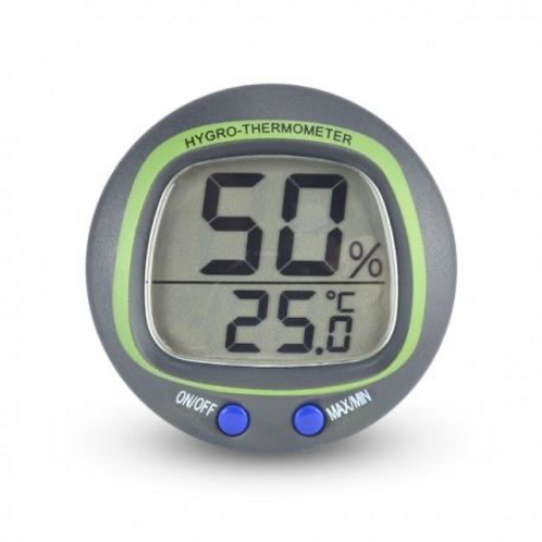 Термо-хигрометър за монтаж на панел