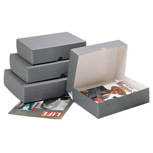 Архивна кутия с метален ръб Acid Free Box - Clamshell