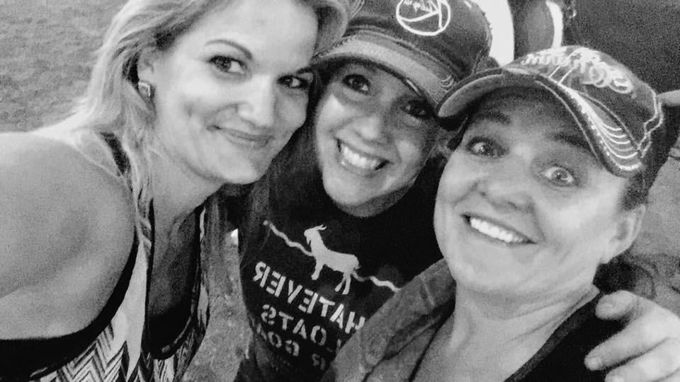 Maggie, Sarah, and Jeannie