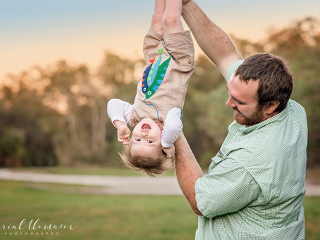 Family Photographer in Trinity FL | Brantley's First Year