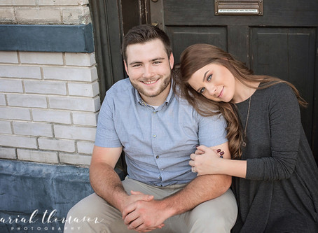 Downtown New Port Richey Engagement Session | Josh and Juliana