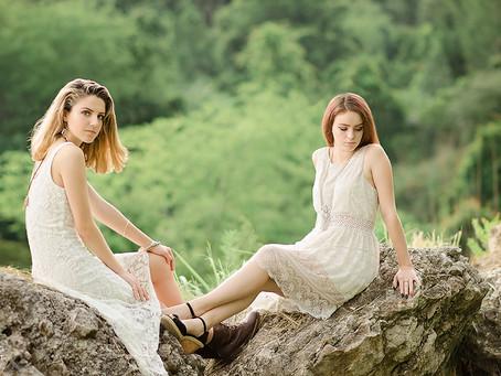 New Port Richey Senior Photographer |  Castle Shoot, feat. Velvet and Morgan