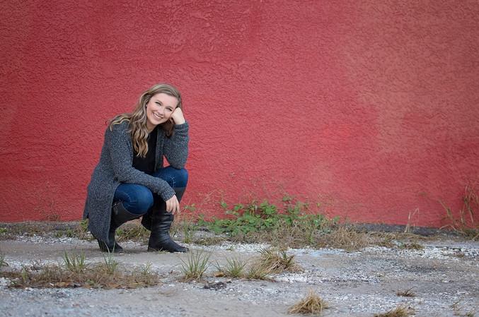 Tampa Senior Photographer Zoe