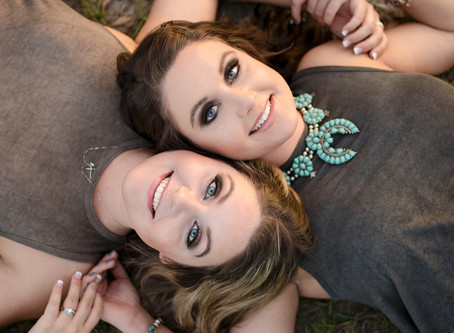 New Port Richey Twin Session | Alexandra and Adriana