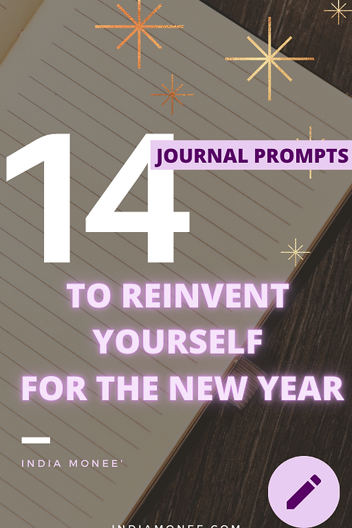 14 Journal Prompts To Reinvent Yourself For The New Year