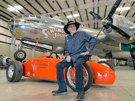 Red Greth, The Speed Sport Roadster & A B-29 Bomber!