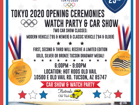 Olympics Watch Party & Car Show!