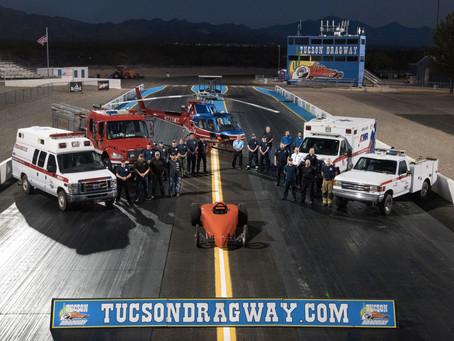 Tucson Dragway Announces Updates & Upgrades to EMS & Rescue Team!