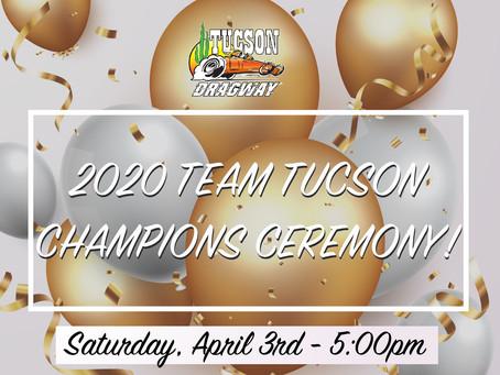 Tucson Dragway Announces 2020 Champions Celebration