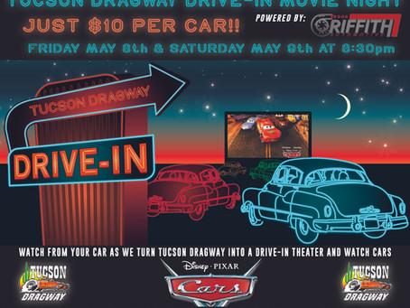 Tucson Dragway Drive-In Theater Night!