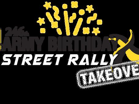Tucson Dragway's Street Rally Celebrates Army's 246th Birthday & New Wally!