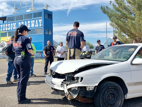 Tucson Dragway Rescue Monthly Training