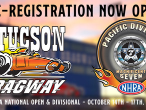 Pre-Registeration For Divisional Racers Open Now!