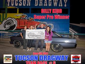 Team Tucson Points After Race #5!