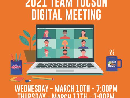 Team Tucson Virtual Meetings!