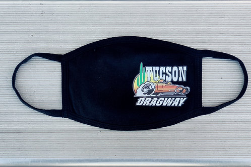 Tucson Dragway Face Mask