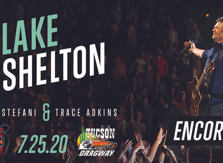 Blake Shelton Drive-In Concert Experience at Tucson Dragway!