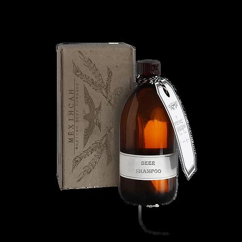 Shampoo de Cerveza para el Cabello