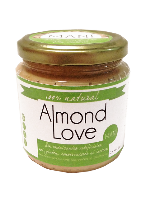 Almond Love - Mantequilla Maní