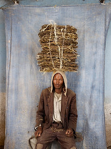 Floriane De Lassee boy with straw