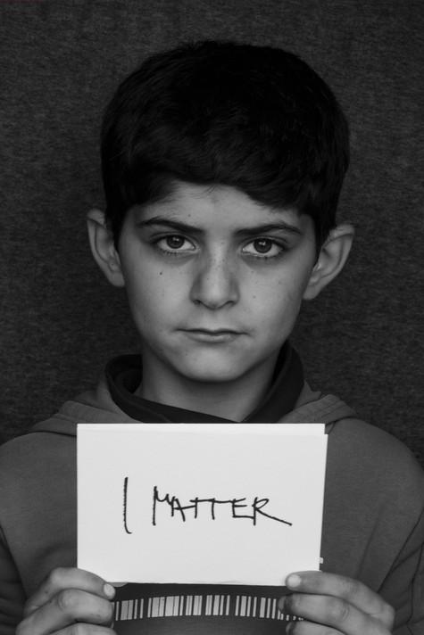 Mohamad, 10 yrs old, Mória refugee camp, Lesvos, Greece, 2020