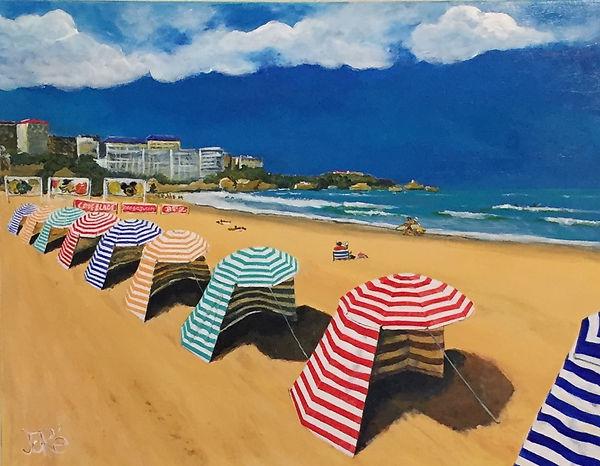 biarritz, grande plage, pays basque, surf